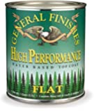 General Finishes Water Based High Performance Polyurethane Top Coat Flat Finish Quart