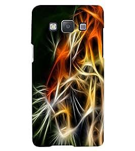 ColourCraft Tiger Look Design Back Case Cover for SAMSUNG GALAXY A8