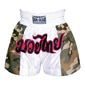 M * Duocamo * Muay Thai Kickboxing Boxing Shorts
