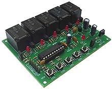 Five Channel Infrared Remote Controlled Reciver Electronic Circuit Board : FA443