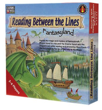 Reading Between The Lines - Fantasyland (Blue Level: 3.5 - 5.0) back-17133