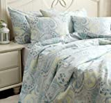 New Shabby and Elegant Style Classic Pretty Patterns Cotton Duvet Cover Bedding Set-Queen Size