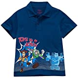 Disney-Pixar Toy Story Boy's (4-10) Polo Shirt - Blue