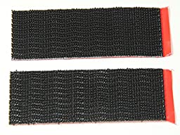 ENVISIONED Snap & Lock Dual Locking Strips - 12 Pack Large Strips