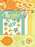 img - for Lucky Flowers Mix & Match Stationery book / textbook / text book