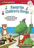 Baby Genius Favorite Children's Songs w/bonus Music CD