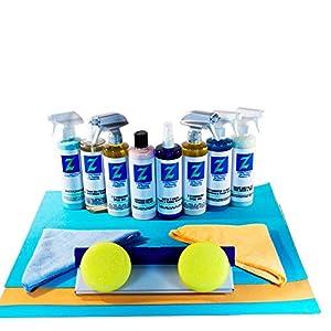Premium Pack Detail Kit 2EZ Carnauba Spray Wax + Diamond Premium Polish + R/3 Rim & Tire Cleaner + EZ Dry Wiper Blade + More! Everything You Need! from 2 EZ Wax