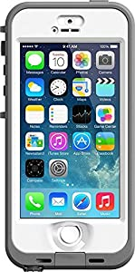 Lifeproof iPhone 5s - Nuud Series - White/Clear
