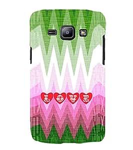 EPICCASE funky love Mobile Back Case Cover For Samsung Galaxy J2 (Designer Case)