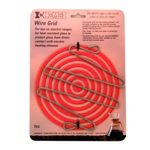 Chemex Stainless Fortify Wire Grid for Use on Electric Stove, 6.5 Inch