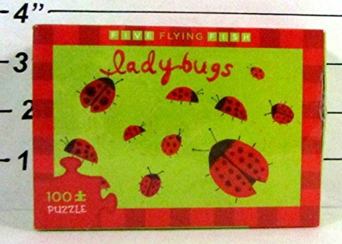 "2008 Five Flying Fish Ladybugs 100-Piece Puzzle 8"" x 12"""