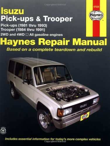Isuzu Pickups & Trooper: 1981-1993 (Haynes Manuals) front-528928