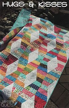 Jaybird Quilts Hugs and Kisses Quilt Pattern