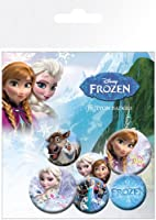 Badge Pack - Frozen - Mix - 6 Pack - MB-A5-L - GB Eye