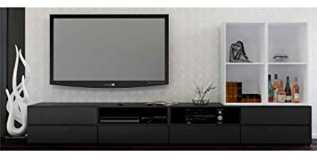Nexera Avenue 60'' TV Stand and Open Storage Module