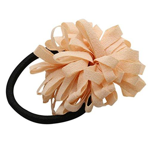 Oyedens donne capelli anello Chiffon multistrato perla per capelli capelli accessori