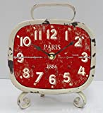 ZQY for high quality vertical alarm clocks pointers plus numbers square clock wood shell G