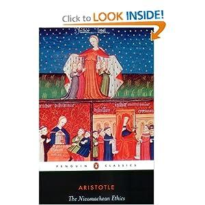 The Nicomachean Ethics, by Aristotle (Penguin Classics)