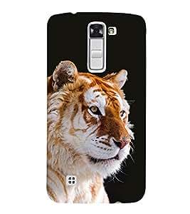 Vizagbeats Tiger Back Case Cover for LG K10