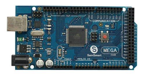SainSmart C43 Kit with Mega2560 + Prototype Shield V3 + L293D Motor Drive Shield for Arduino UNO R3 MEGA Mega2560 Nano DUE Duemilanove AVR ATMEL Robot XBee ZigBee