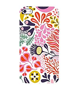 EPICCASE splashy flower Mobile Back Case Cover For Apple iPhone 4/4s (Designer Case)