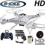 s-idee 01251 Quadrocopter S183C HD KA...