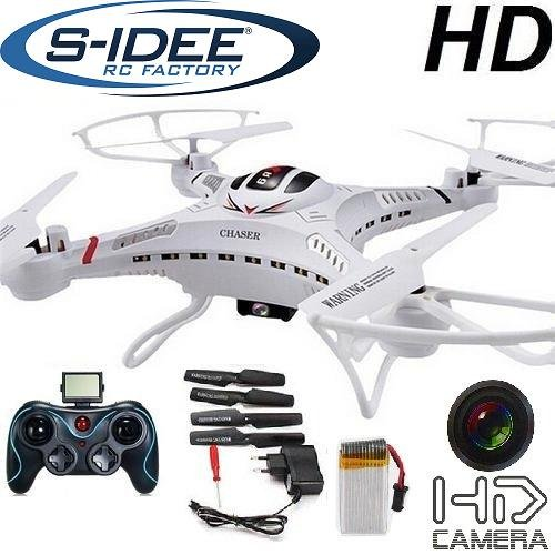 s-idee-01251-Quadrocopter-S183C-HD-KAMERA-45-Kanal-24-Ghz-Drohne-mit-Gyroscope-Technik