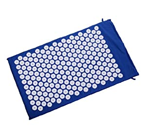 Soozier Acupressure Mat - Stress / Back Pain Relief - Blue