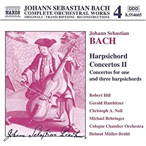 Orchesterwerke Vol. 4 (Cembalokonzerte Vol. 2)