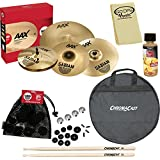 Sabian 25005XXP-Kit02 AAX Promotional Cymbal Set  with ChromaCast Bag & Accessories