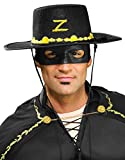 Rubies Costume Co Mens Zorro Hat and Eye Mask Set