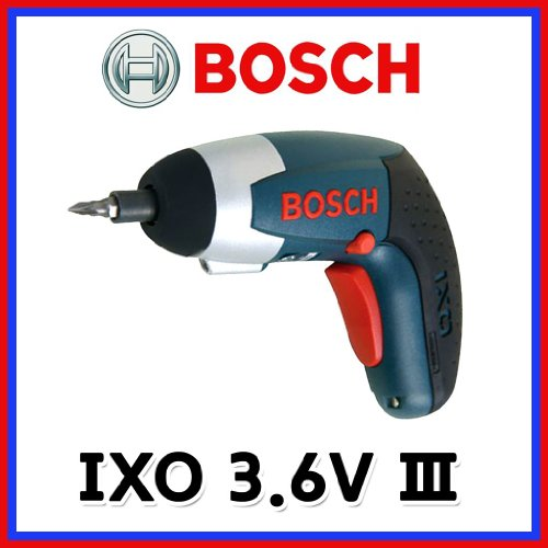 Bosch IXO III 3.6V Professional LITHIUM-ION Screwdriver LED 220V FAST EMS Shipping (Bosch Ixo compare prices)