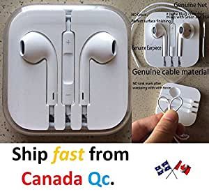 Premium Earpods Earphone Headphone Headset With Volume Remote and Mic for Apple iPhone 5