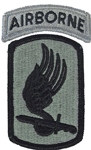 173rd Airborne Brigade ACU Patch with AIRBORNE tab