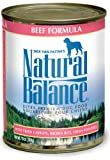 51RoQxt6ObL. SL160  Natural Balance Beef and Brown Rice Formula for Dogs (Pack of 12 13 Ounce Cans)