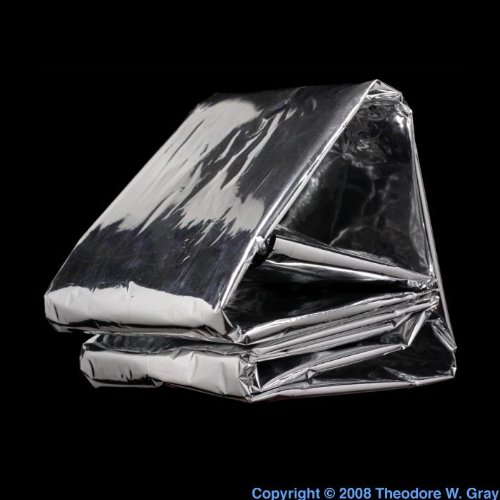 "Emergency Mylar Blanket - 52"" X 84"" - Pack Of 12 Blankets - Eb-12 front-736186"