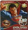 """Man of Steel Superman 46 Piece Floor Puzzle 24"""" x 36"""""""