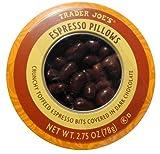 Trader Joe's Espresso Pillows Crunchy Toffeed Espresso Bits Covered in Dark Chocolate