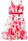 Bonnie Jean Girls 7-16 Fuchsia Floral Dress, Pink, 16