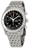Breitling Men's BTA2432212-B726SS Navitimer World Chronograph Watch by BRIT ARCH OF COUNTRY