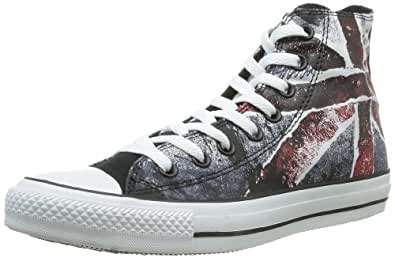 Converse Unisex-Adult Chuck Taylor All Star Core Hi Trainers UK Flag Pattern 7 UK