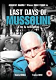 Last Days Of Mussolini [DVD] [1974]