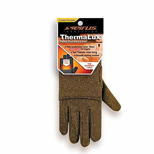 Seirus Thermalux Heat Pocket Glove Liner Black sm/md (Lurex Glove Liners compare prices)