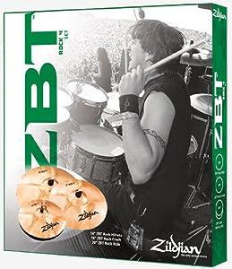 Zildjian ZBTR4P-9A Cymbal Box Set with 18 inch ZBT Crash Cymbal