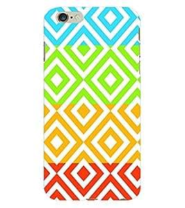 Fuson 3D Printed Pattern Designer Back Case Cover for Apple iPhone 6 Plus - D993