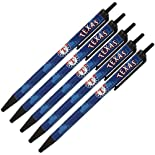 MLB Texas Rangers 5 Pack Disposable Pens