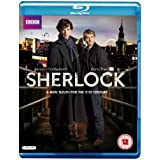 Sherlock - Series 1 [Blu-ray]  [Region Free]by Benedict Cumberbatch