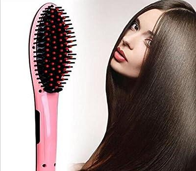 100% Genuine Beautiful Star comb hair straightener LCD Hair Comb Brush Irons
