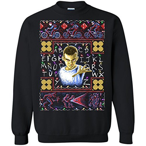 Ugly Stranger Things Eleven Christmas Sweater