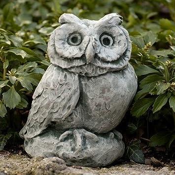 Merrie Little Owl Statue Color: Alpine Stone by Campania International